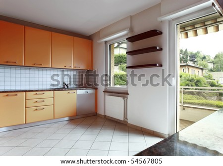 beautiful internal view, kitchen