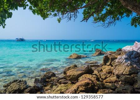 Beautiful island in pattaya province (Thailand.)
