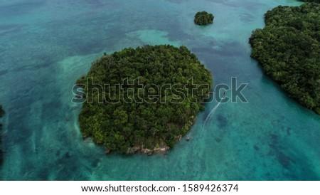 beautiful Islands in kei islands south east maluku Stockfoto ©