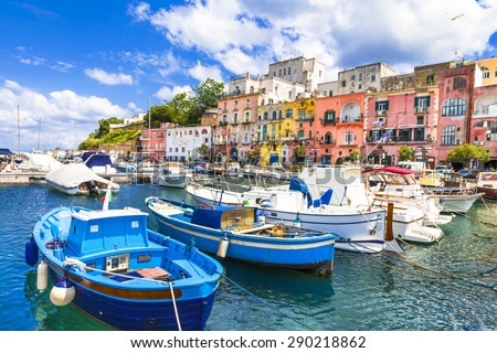 beautiful Italian islands - Procida (Campania)