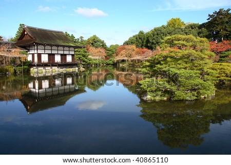 Beautiful japanese landscape (Kyoto)