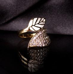 Beautiful jewelry on background