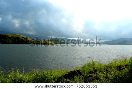 Beautiful Kabini River Zdjęcia stock ©