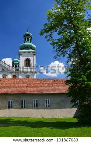 Beautiful Kameduli monastery in Krakow, Poland