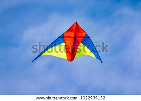 Beautiful kite image