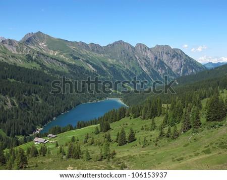 Beautiful lake Arnensee