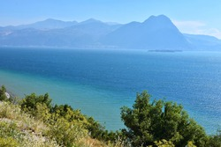 Beautiful lake Egirdir of Turkey is situated in the Isparta province. Amazing turquoise water of Egirdir Lake