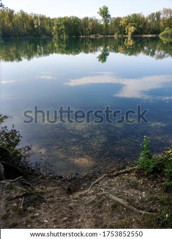 Beautiful Lake in Baden Württemberg, Germany