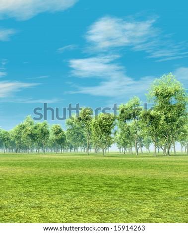 Beautiful landscape - Shutterstock ID 15914263