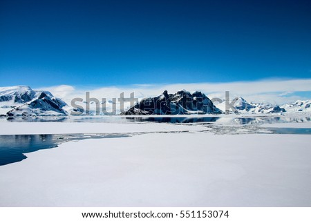 Shutterstock Beautiful landscape and scenery in Antarctica
