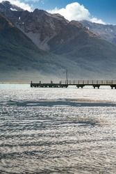 Beautiful landscape at Glenorchy, Otago, New Zealand