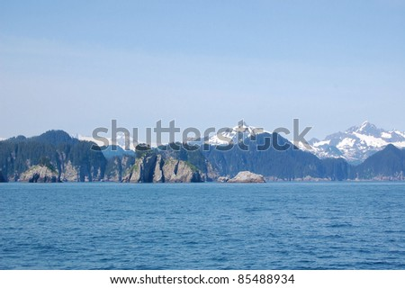 Beautiful Landscape in Kenai Fjords National Park
