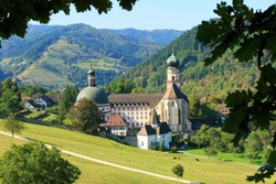 beautiful landscape in the Black Forest in Germany