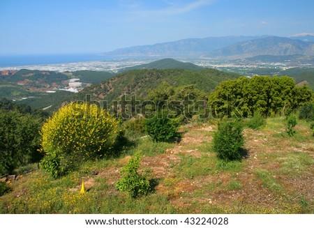 Beautiful landscape in Turkey.