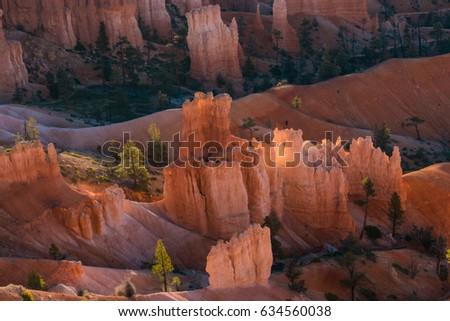 Beautiful landscape of Bryce Canyon national Park, Utah #634560038