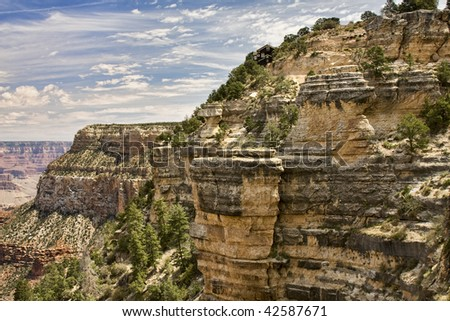 Beautiful Landscape of Grand Canyon from Desert View Point.