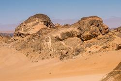 Beautiful landscape of the Namibia desert