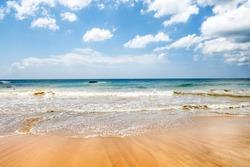 Beautiful landscape sand beaches