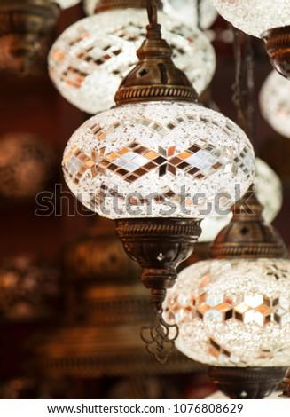 Beautiful lantern hanging #1076808629
