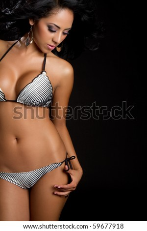 stock photo beautiful latin swimsuit bikini woman 59677918 Site chat webcam gratis gay