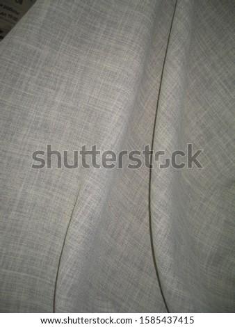 beautiful line fabric drapery with macro shot