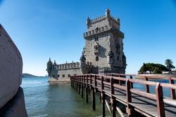 Beautiful Lisabon in Portugal, walking around