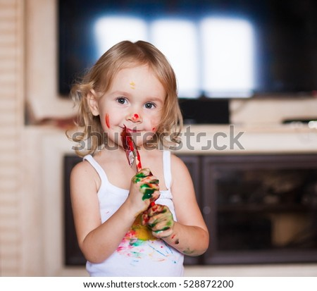 Free Photos Close Up Of A Young Toddler Girls Brown Eyes Avopixcom