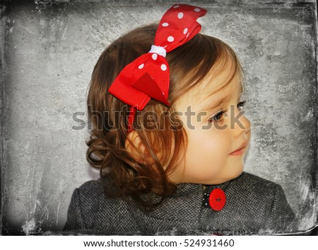 Beautiful little girl #524931460