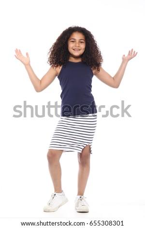 Beautiful little girl Stock photo ©
