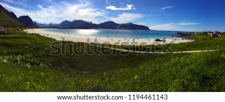 Beautiful Lofoten Norway #1194461143