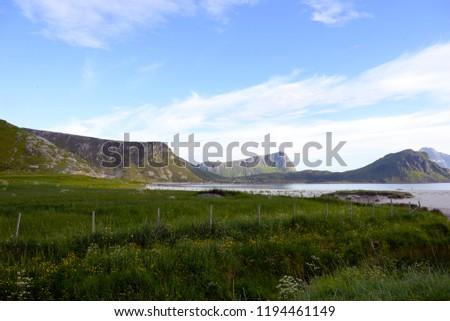 Beautiful Lofoten Norway #1194461149