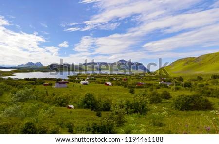 Beautiful Lofoten Norway #1194461188