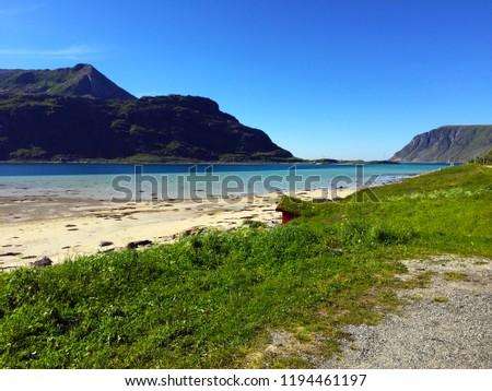 Beautiful Lofoten Norway #1194461197