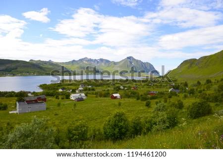 Beautiful Lofoten Norway #1194461200
