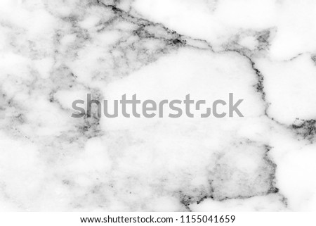 Beautiful luxury black color and gray color  pattern on white color of marble rock which use for brochure invitation cover book catalog background wallpaper