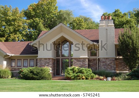 Beautiful luxury home. Great for real estate brochures