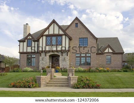 Beautiful luxury home in an upscale suburb of Denver, Colorado.