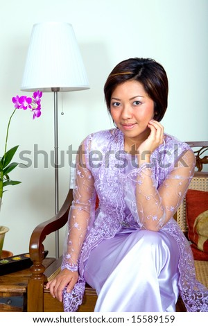 details details of kebaya chiffon kebaya clothes that worn sweeping