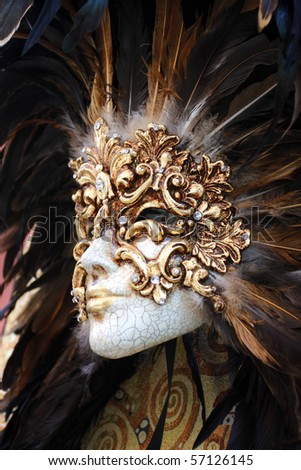Beautiful mask for carnival