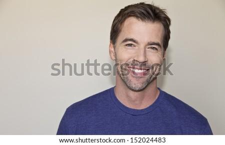 Beautiful mature man smiling #152024483