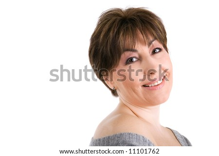 Hot nude brunette women