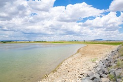 Beautiful Maxwell National Wildlife Refuge in New Mexico, USA