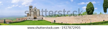 Beautiful medieval Assisi town as religios center. Italy Photo stock ©