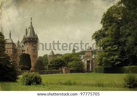Beautiful medieval castle (Holland)