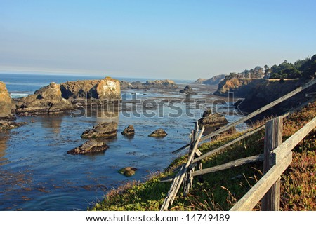 Beautiful Mendocino Coastline in Northern California