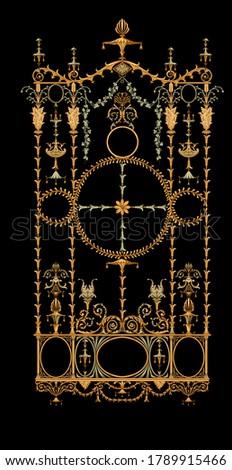 Beautiful metal gate design for home entrance.metal gate