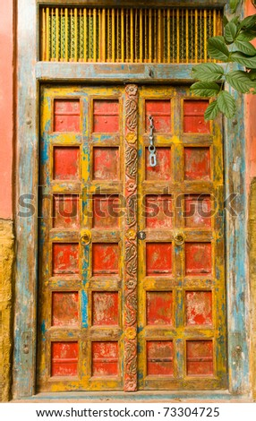 Beautiful mexican door