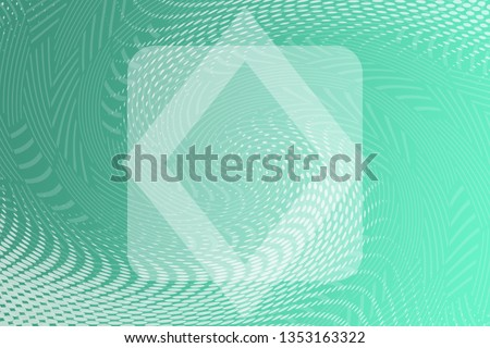 Beautiful mint abstract background. Minty neutral backdrop for presentation design. Green base for website, print, base for banners, wallpapers, business cards, brochure, banner, calendar #1353163322