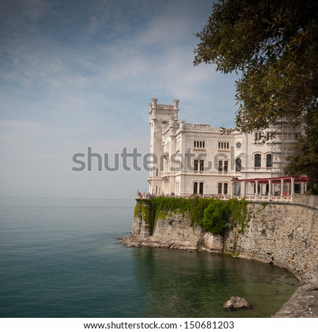Beautiful Miramare Castle, Trieste Italy