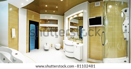 beautiful modern apartment interior